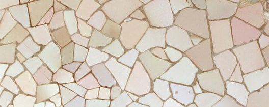 mozaiek tegels zetten