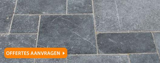natuurstenen tegelvloer Maastricht